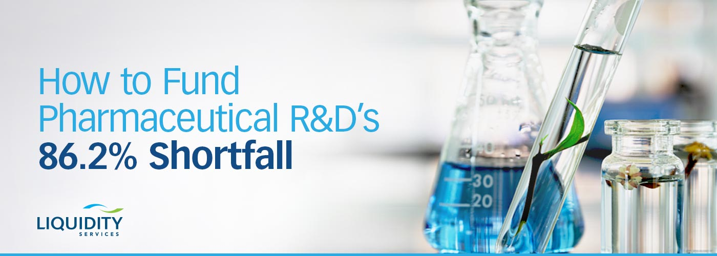Most biopharma drugs never get approved – how to pay for R&D | Liquidity Services